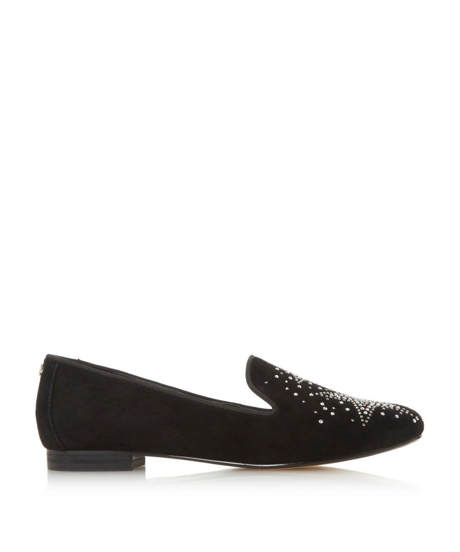 Image for Dune Ladies GLEAMING Star Encrusted Slipper Shoes