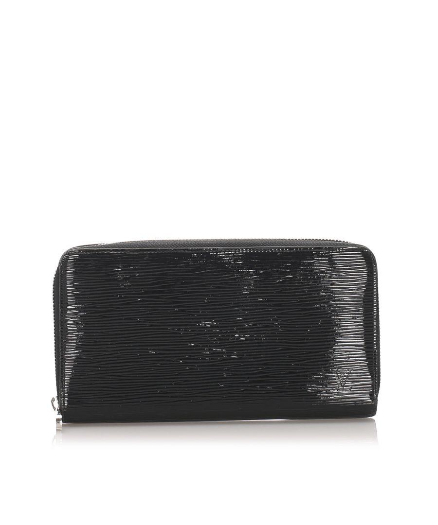 Image for Vintage Louis Vuitton Electric Epi Zippy Black