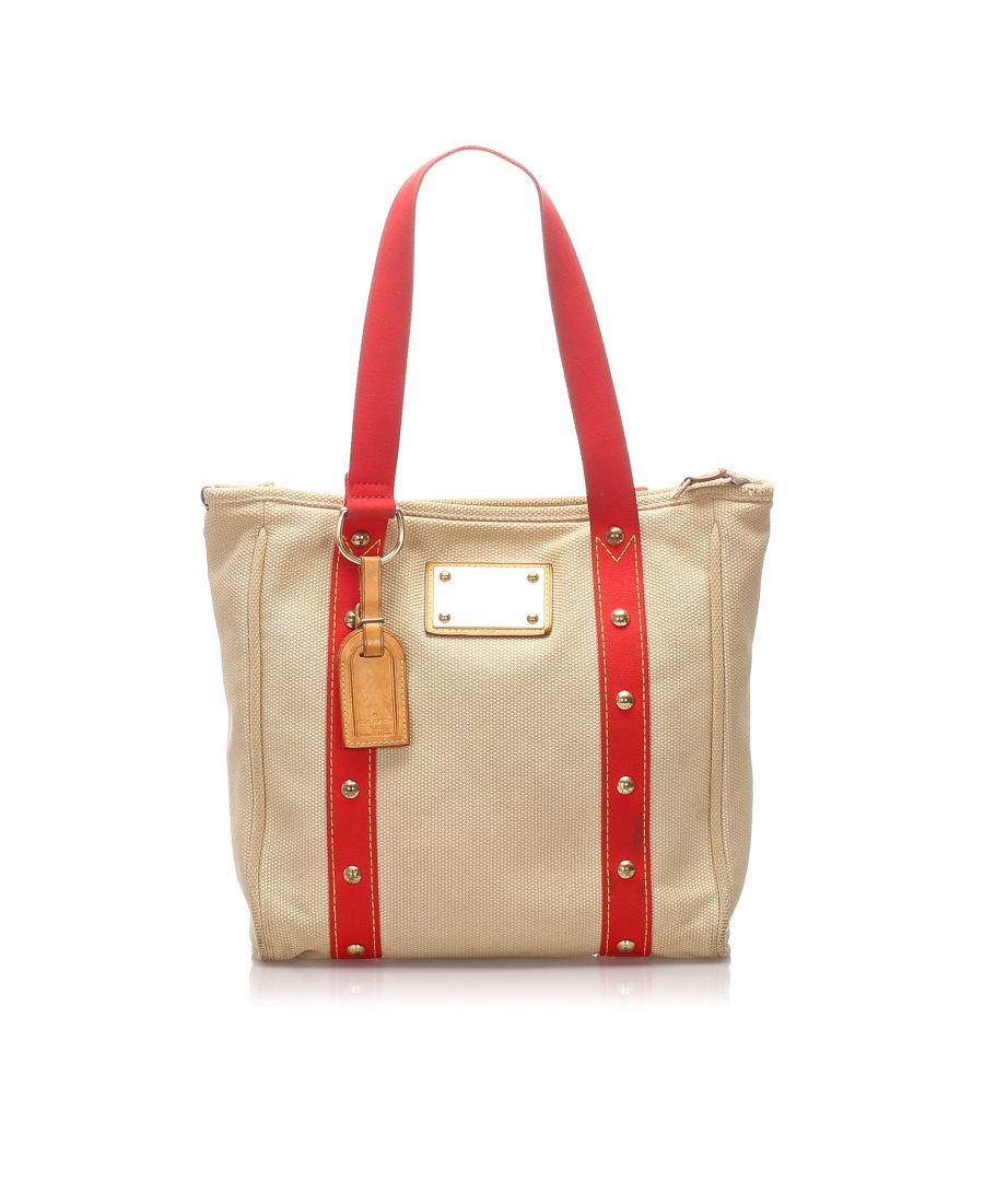 Image for Vintage Louis Vuitton Antigua Cabas MM Brown