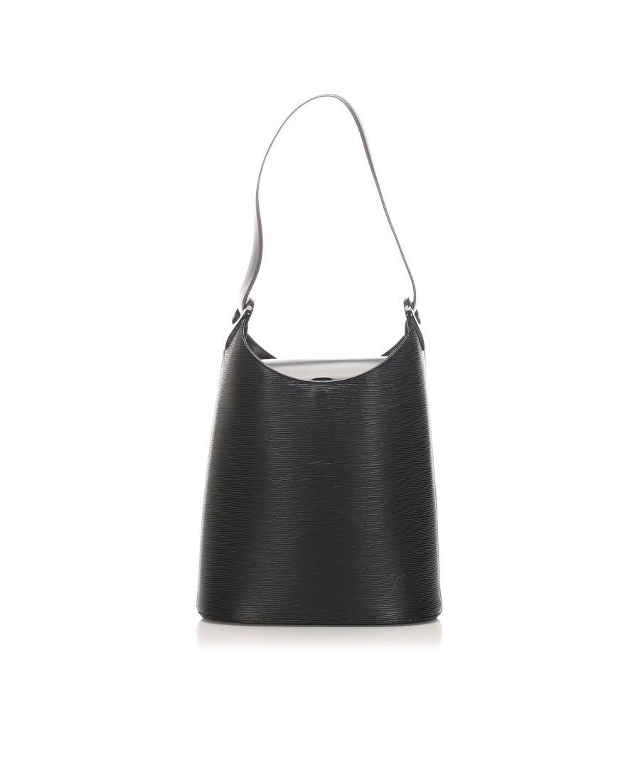 Image for Vintage Louis Vuitton Epi Sac Verseau Black