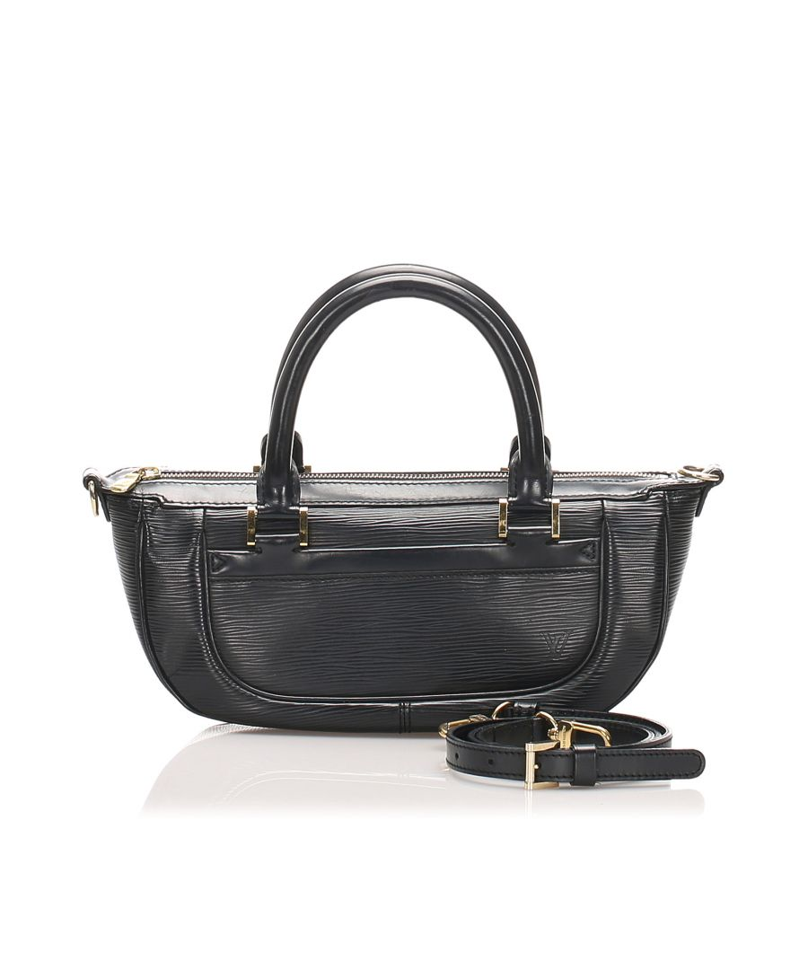 Image for Vintage Louis Vuitton Epi Dhanura PM Black