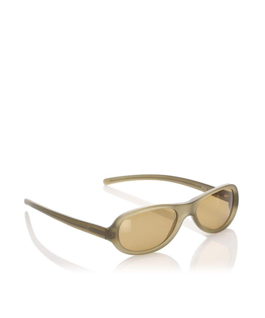 Image for Vintage Prada Square Tinted Sunglasses Brown