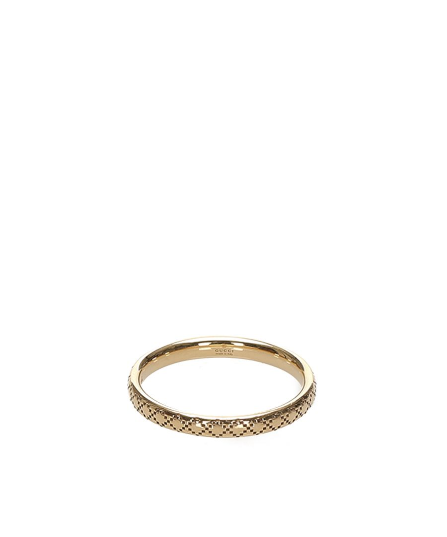 Image for Vintage Gucci Icon Ring Gold