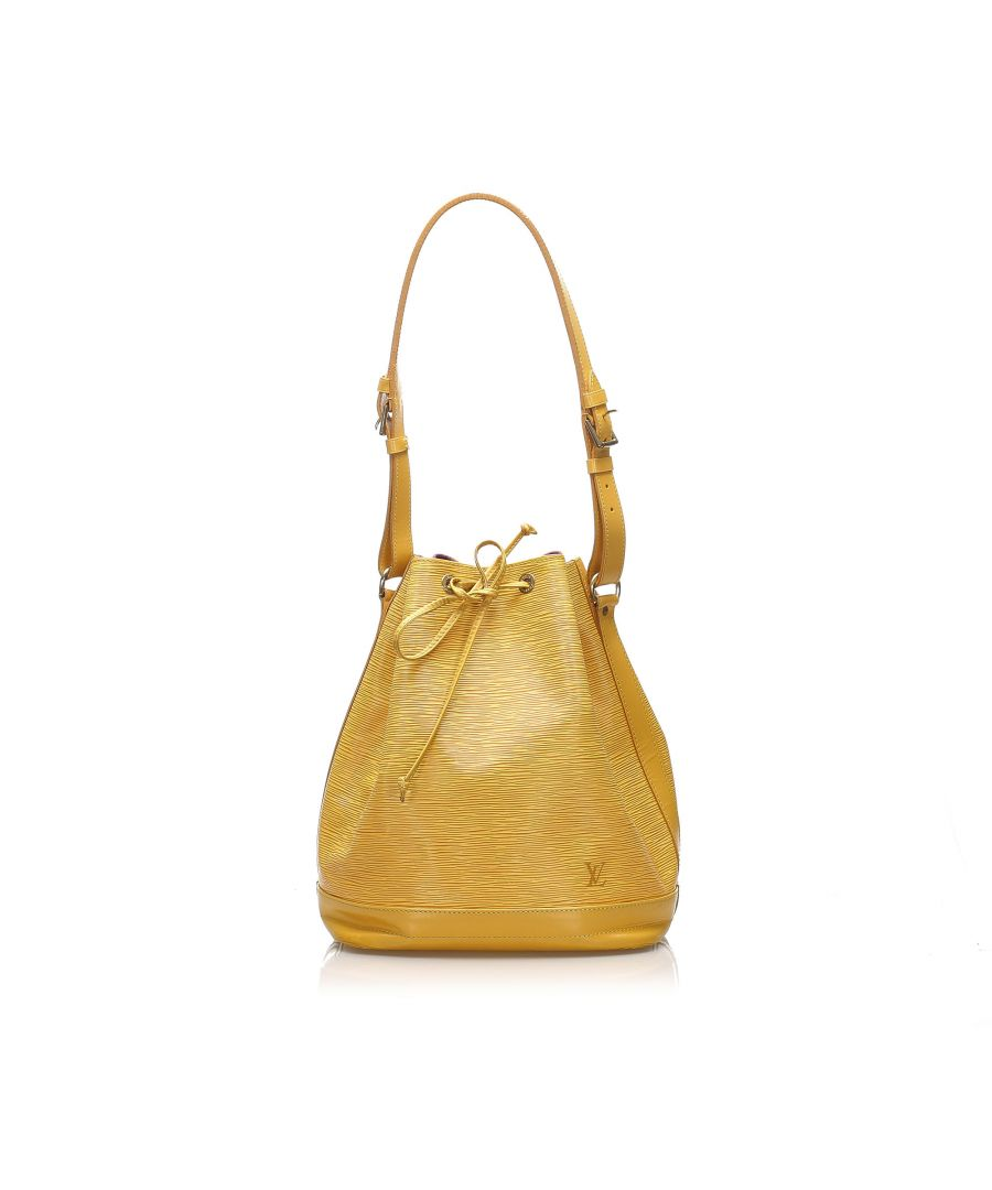 Image for Vintage Louis Vuitton Epi Noe Yellow