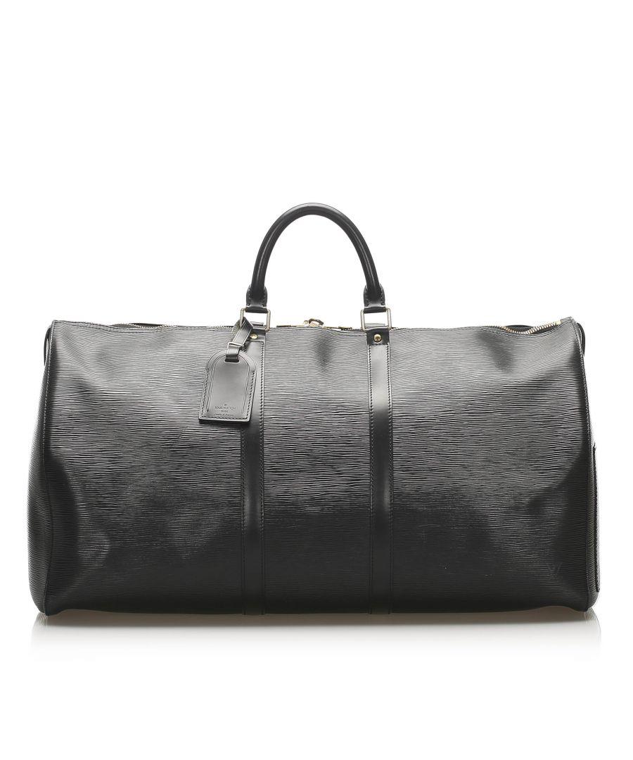 Image for Vintage Louis Vuitton Epi Keepall 60 Black