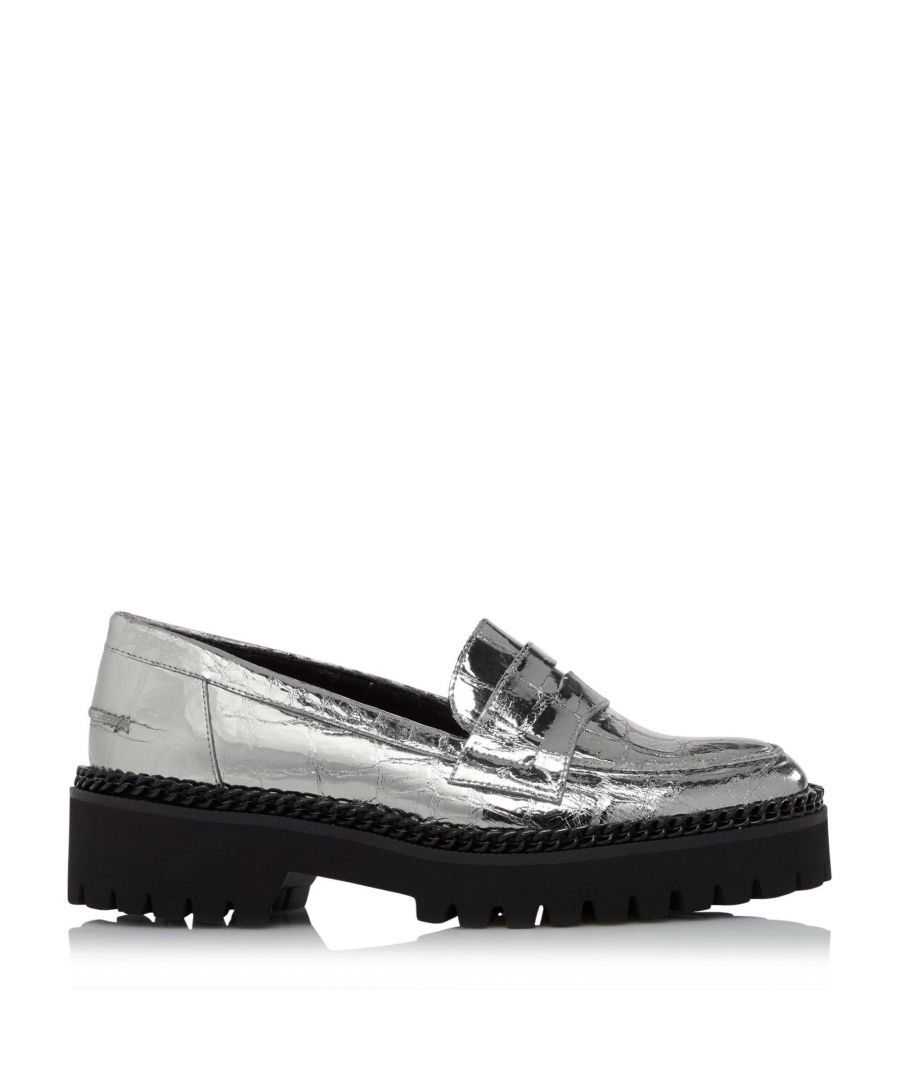 Image for Dune Ladies GLORIOUS Low Heel Chunky Loafers