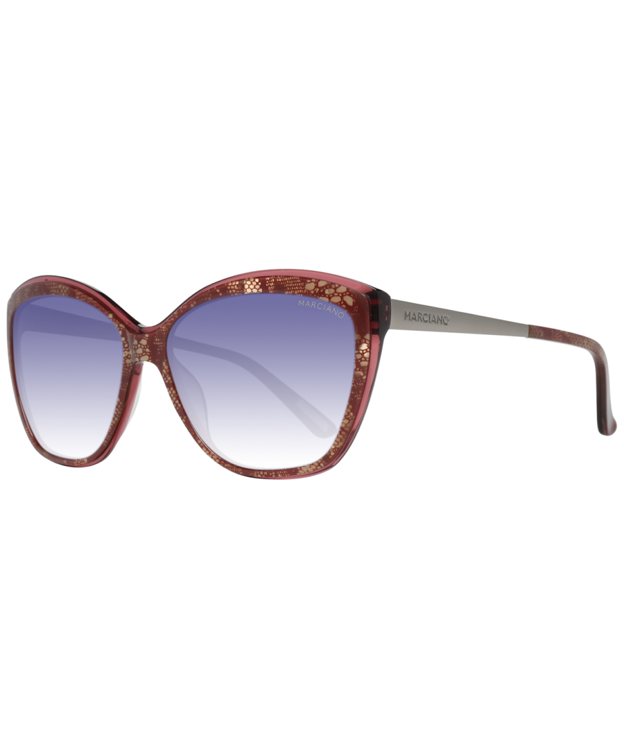 Image for Guess by Marciano Sunglasses GM0738 71B 59 Women Red