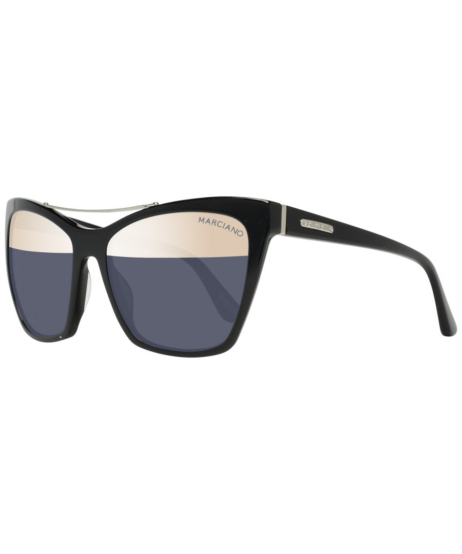 Image for Guess by Marciano Sunglasses GM0753 01B 57 Women Black