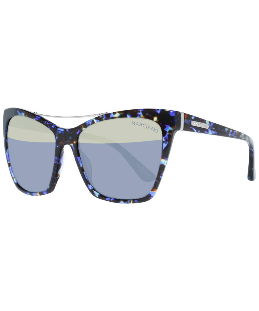 Image for Guess by Marciano Sunglasses GM0753 92B 57 Women Blue
