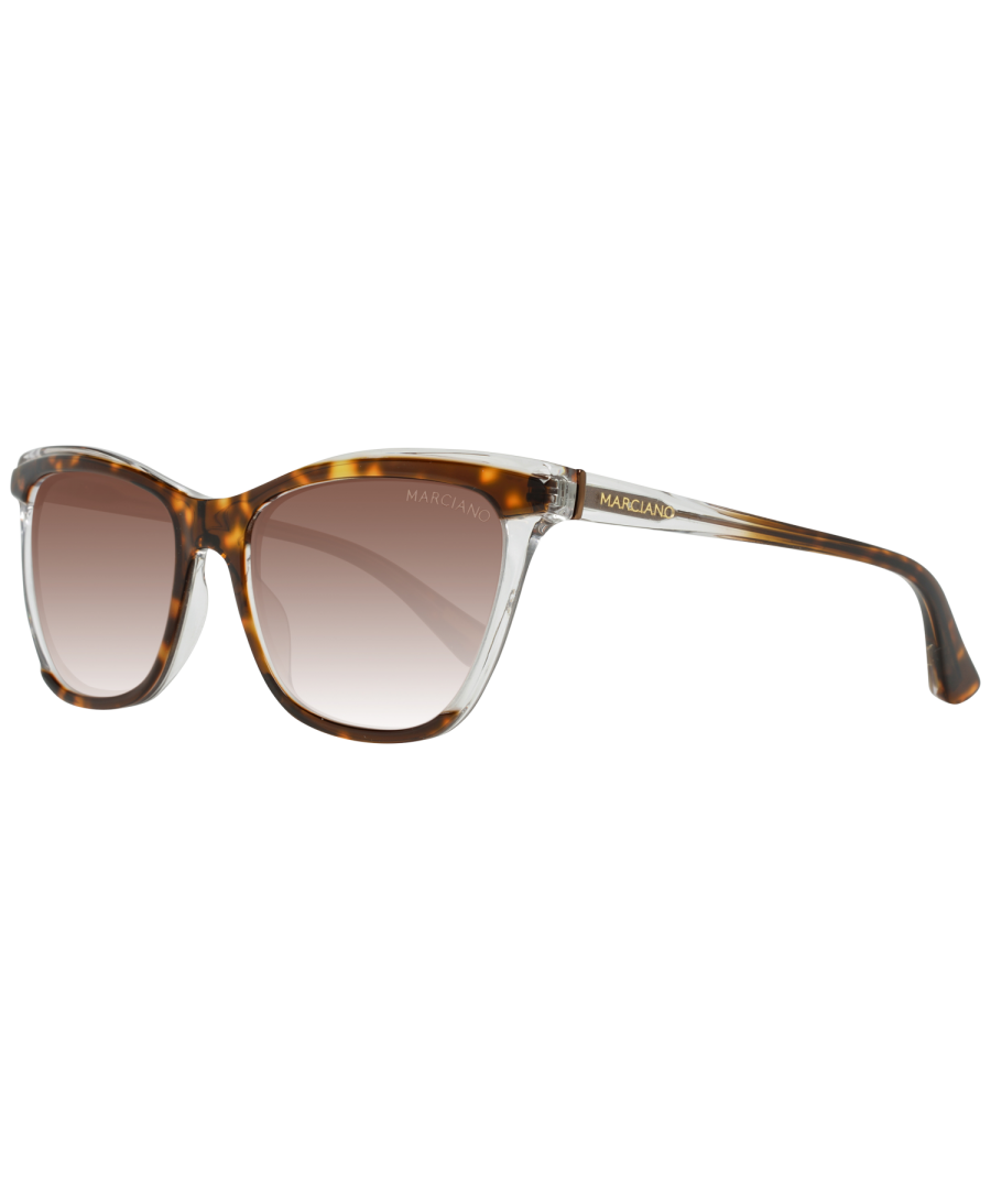Image for Guess by Marciano Sunglasses GM0758 56F 56 Women Brown