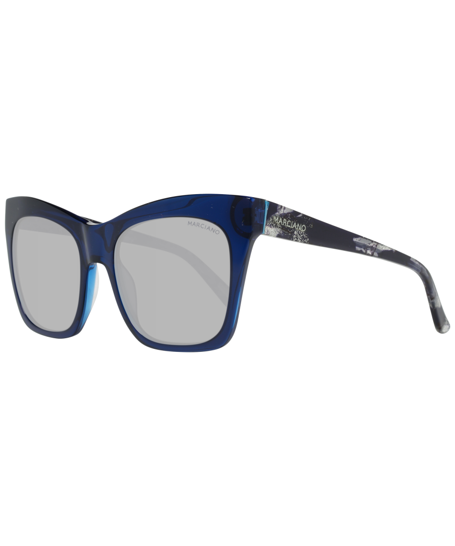 Image for Guess by Marciano Sunglasses GM0759 84X 55 Women Blue