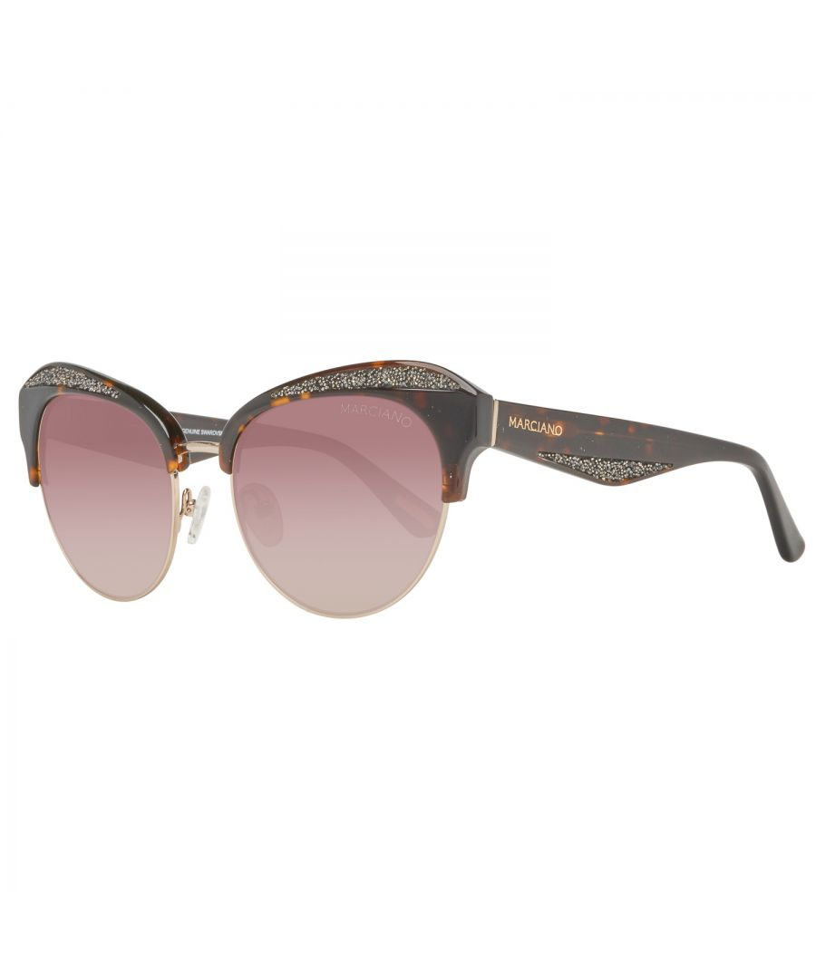 Image for Guess by Marciano Sunglasses GM0777 52F 55 Women Brown