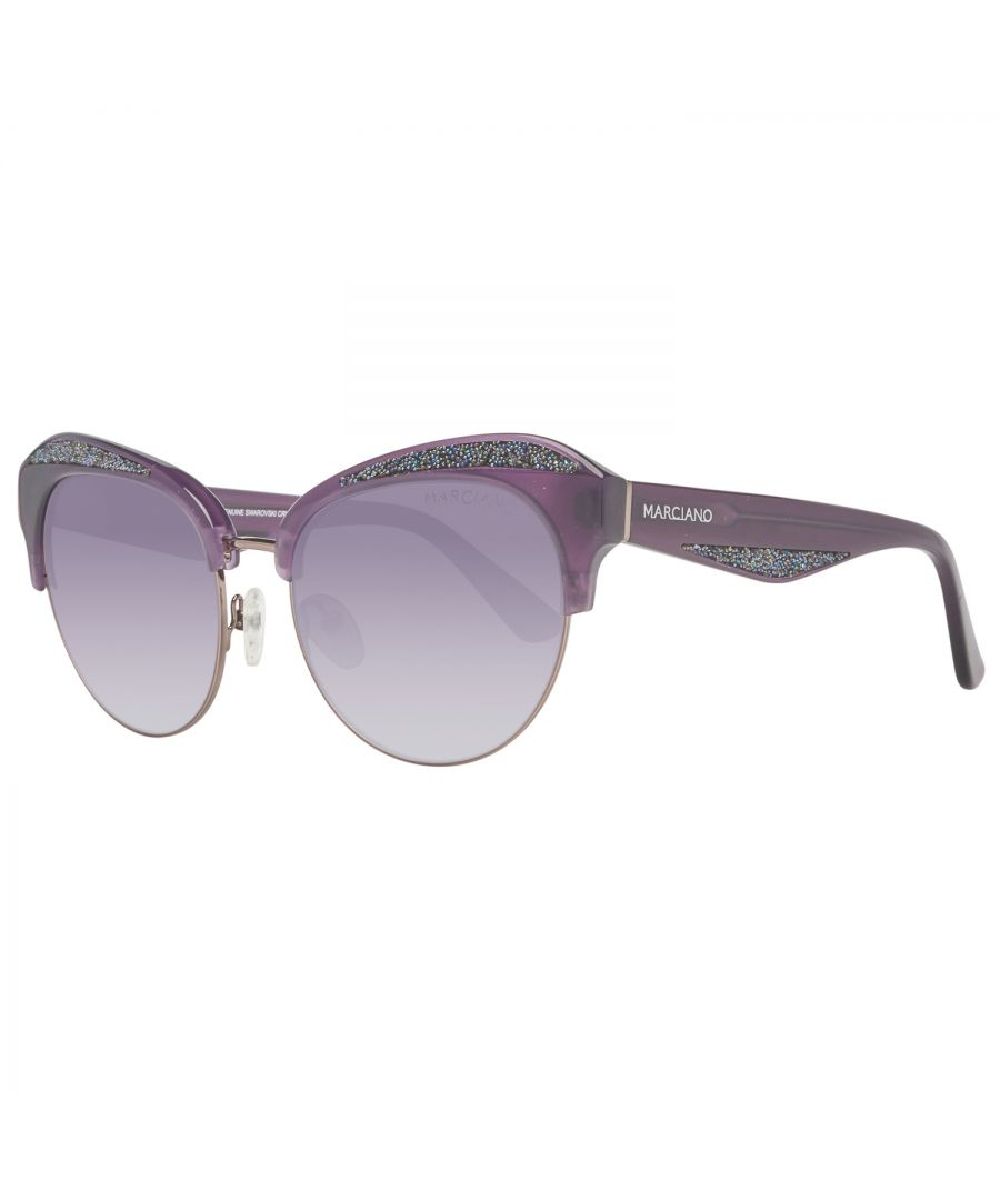 Image for Guess by Marciano Sunglasses GM0777 78B 55 Women Purple