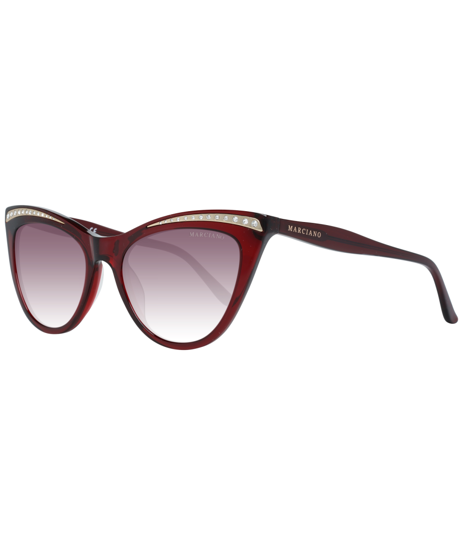 Image for Guess by Marciano Sunglasses GM0793 66F 53 Women Red