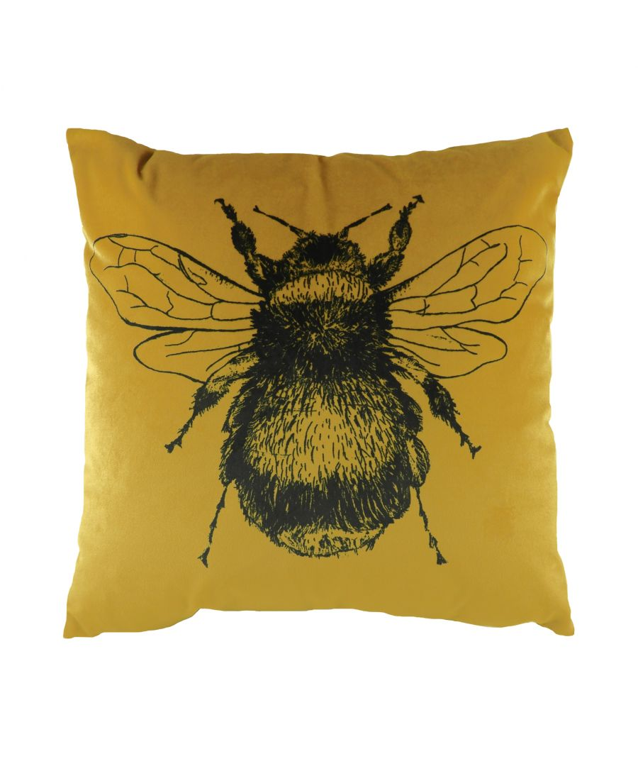 Image for Gold Bee Cushion