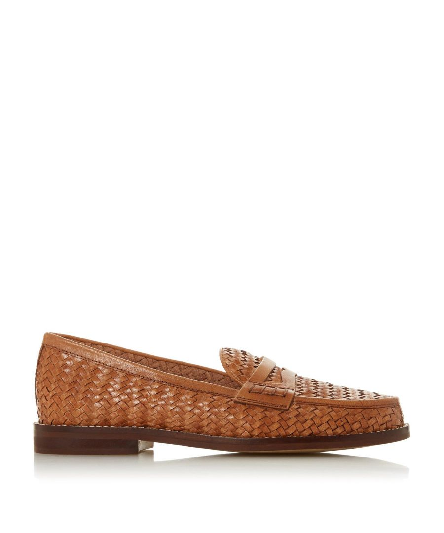 Image for Bertie Ladies GOODWINN Woven Saddle Loafer