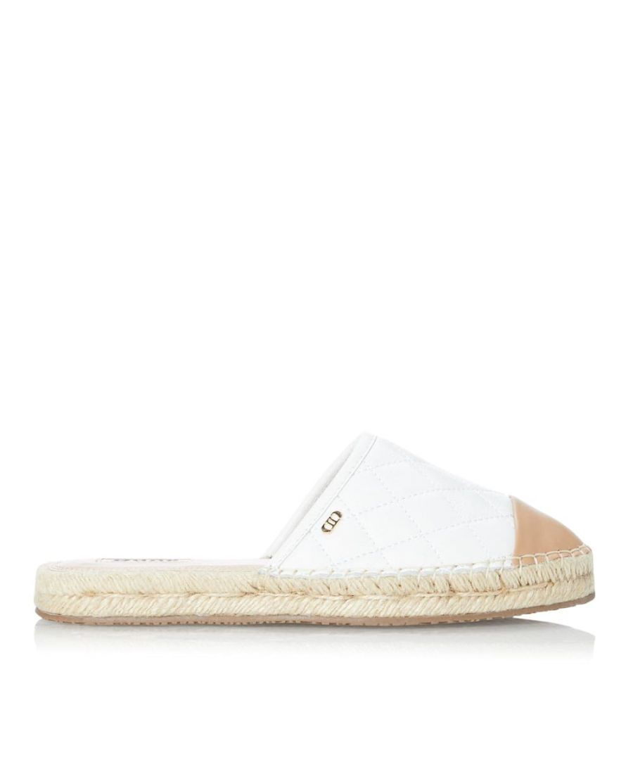 Image for Dune Ladies GRACEFUL Quilted Espadrille Mule