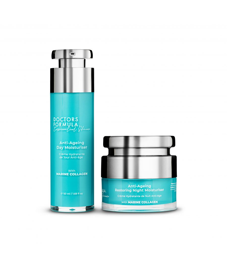 Image for Doctors Formula Day and Night Anti Ageing Moisturiser kit