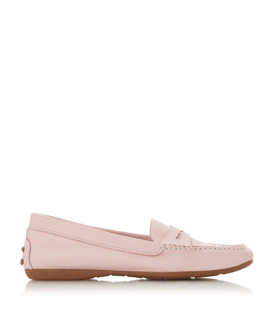 Image for Dune Ladies GROVER Saddle Detail Loafer