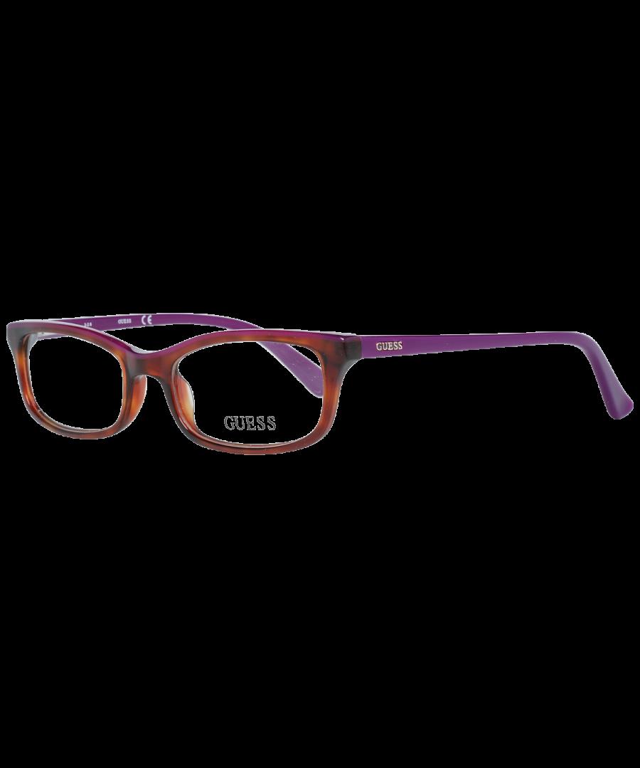 Image for Guess Optical Frame GU2603 053 50 Women Brown