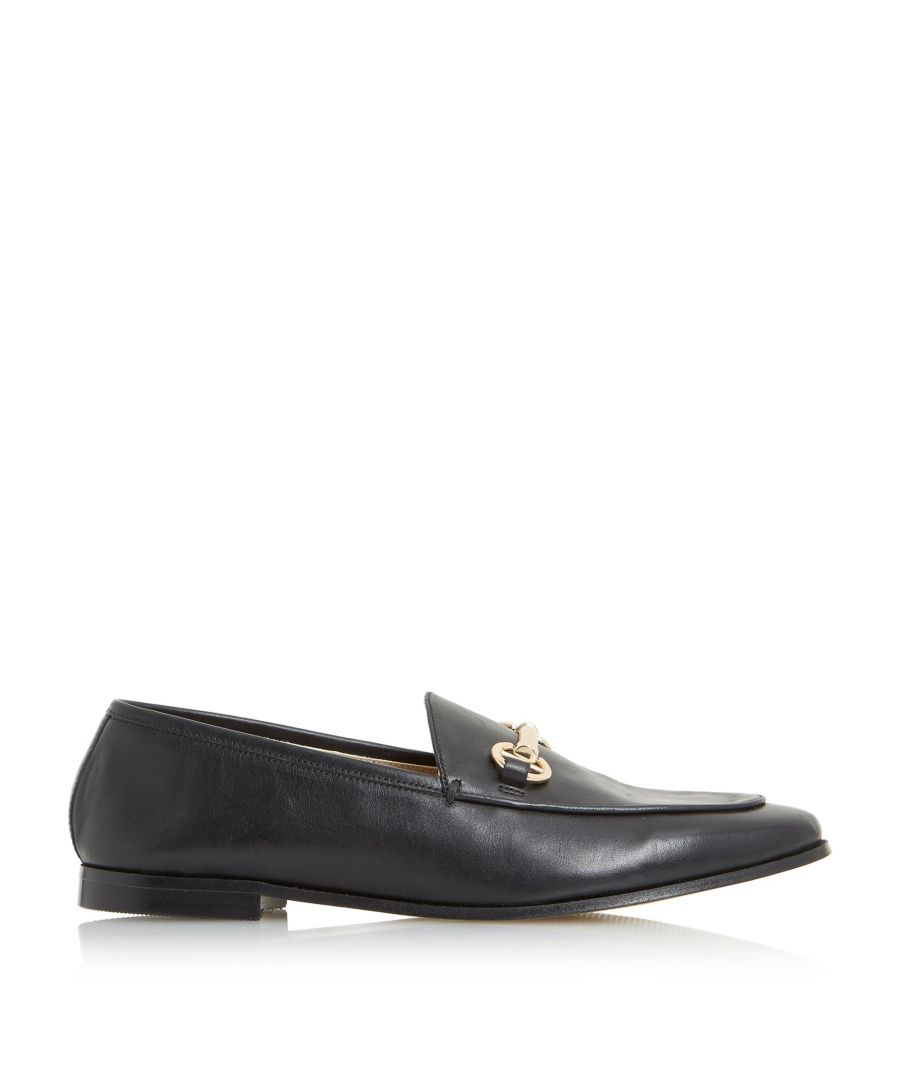Image for Dune Ladies GUILT Metal Saddle Trim Loafer Shoes