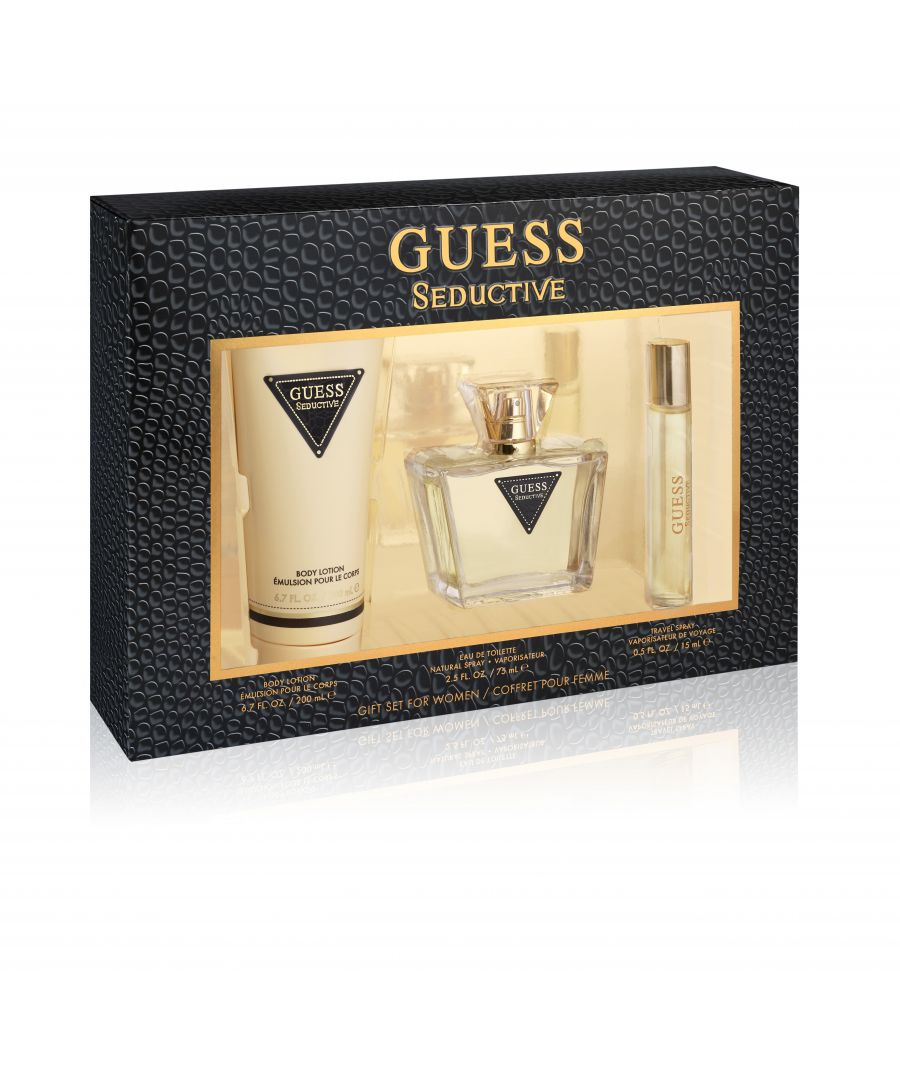 Image for Guess Seductive Women Gift Set Eau De Toilette 75Ml And Body Lotion 200Ml