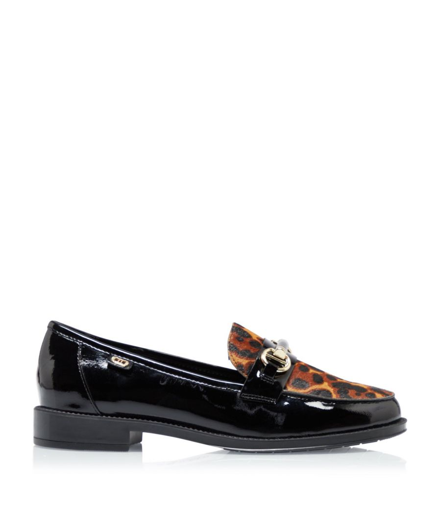 Image for Dune Ladies GUYS Patent Snaffle Loafer