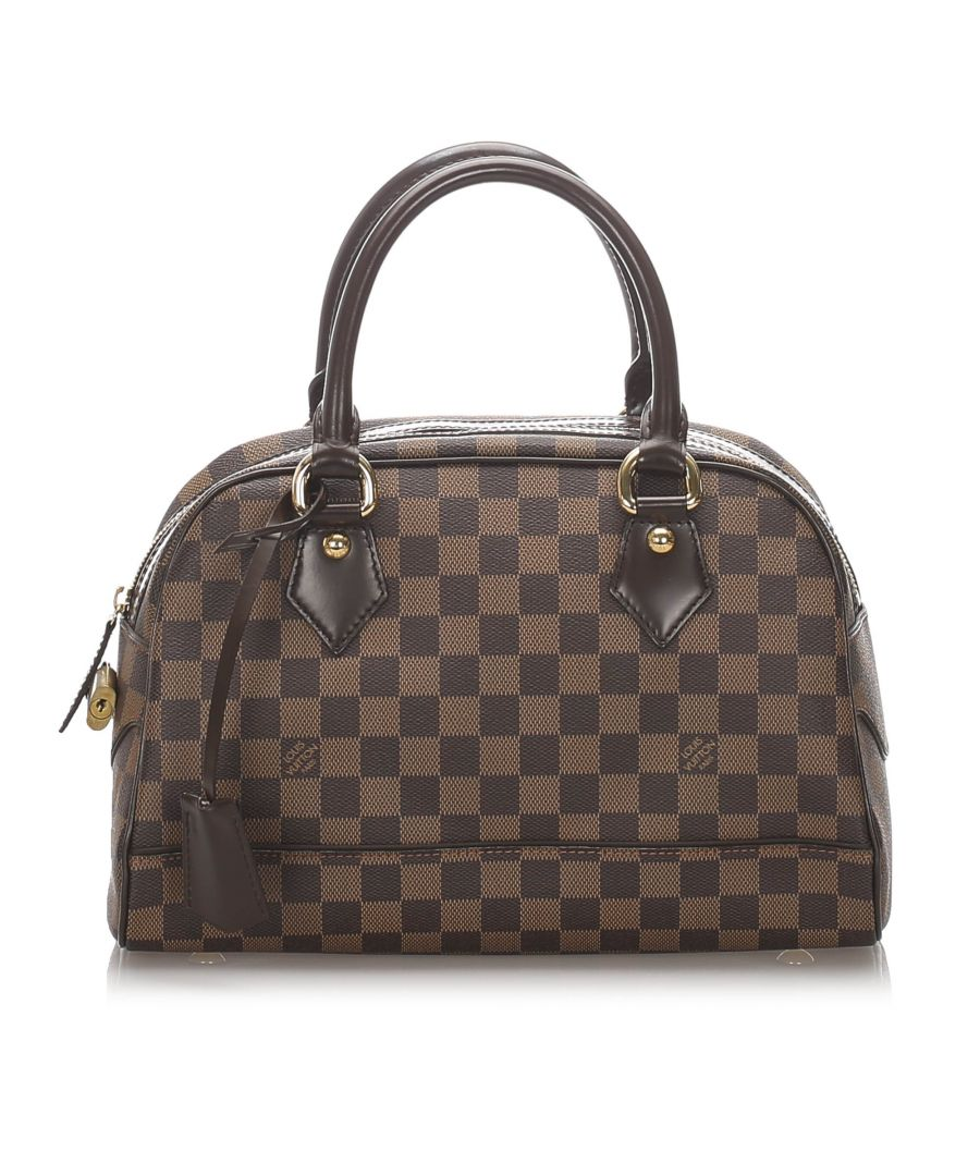 Image for Vintage Louis Vuitton Damier Ebene Duomo Brown