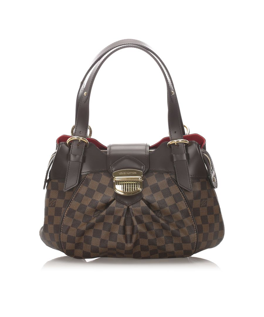 Image for Vintage Louis Vuitton Damier Ebene Sistina PM Brown