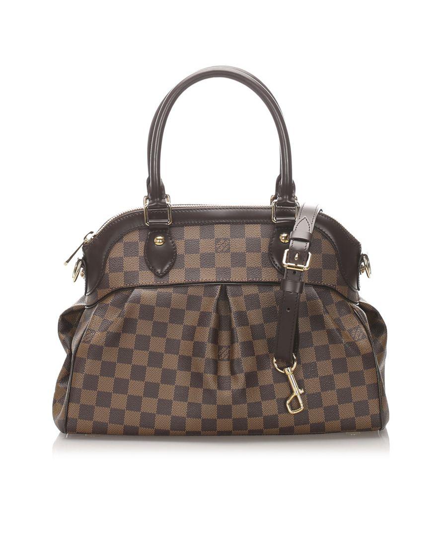 Image for Vintage Louis Vuitton Damier Ebene Trevi PM Brown