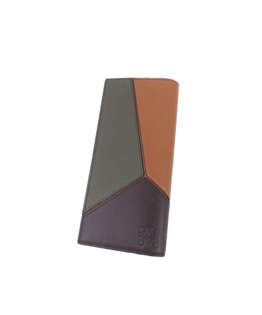 Image for Vintage Loewe Puzzle Wallet Black