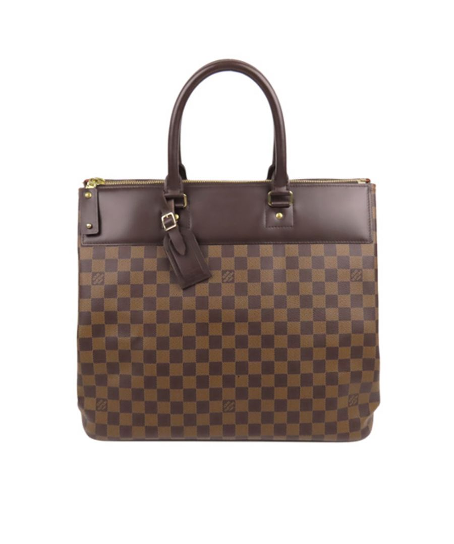 Image for Vintage Louis Vuitton Damier Ebene Greenwich PM Brown
