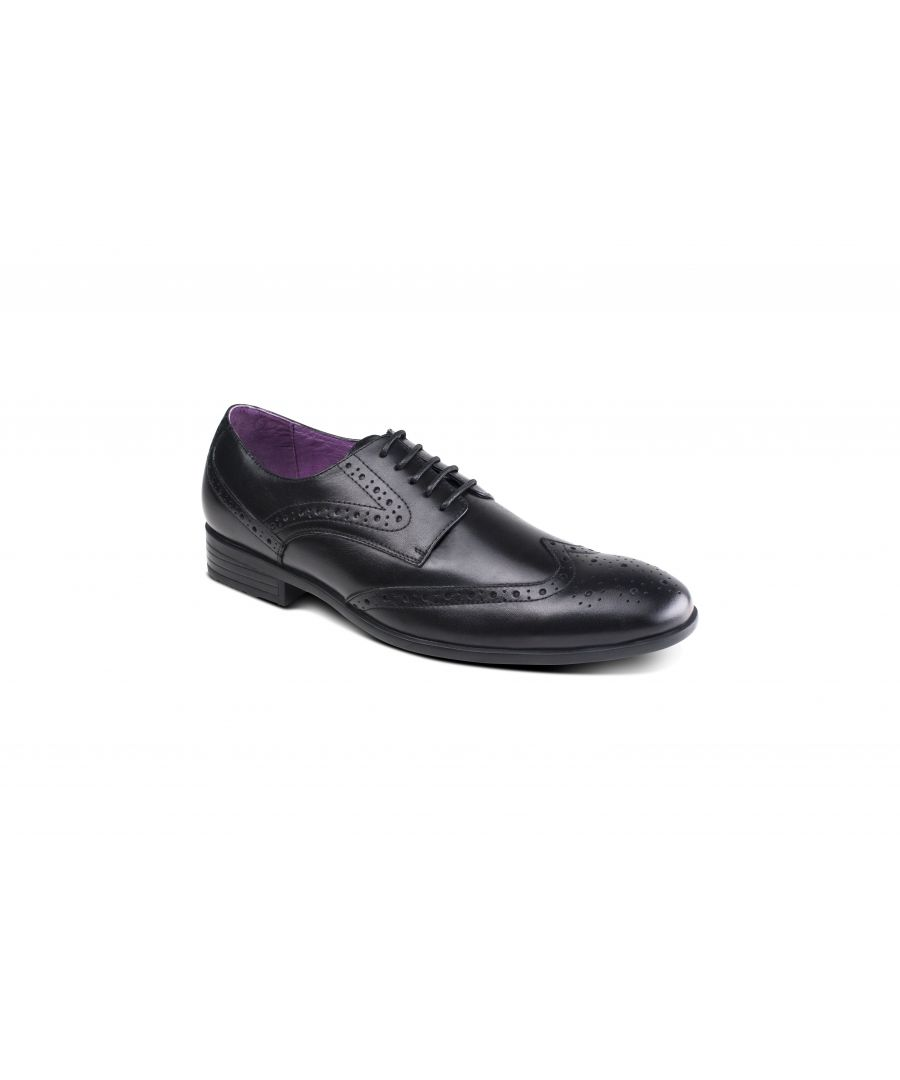 Image for Lancetti Brogue Black