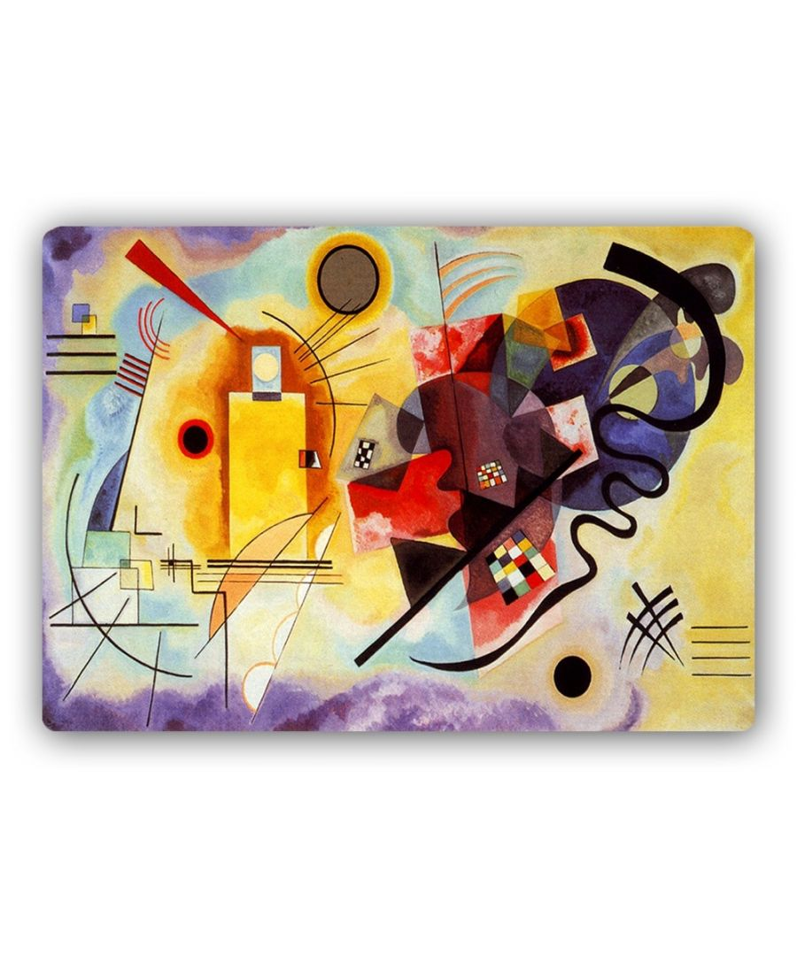 Image for Metal Print - Yellow, Red, Blue - Wassily Kandinsky