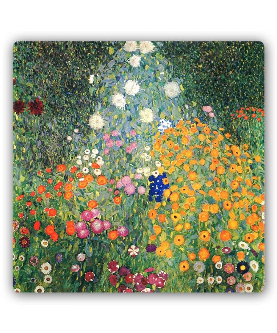 Image for Metal Print - Flowers Garden - Gustav Klimt