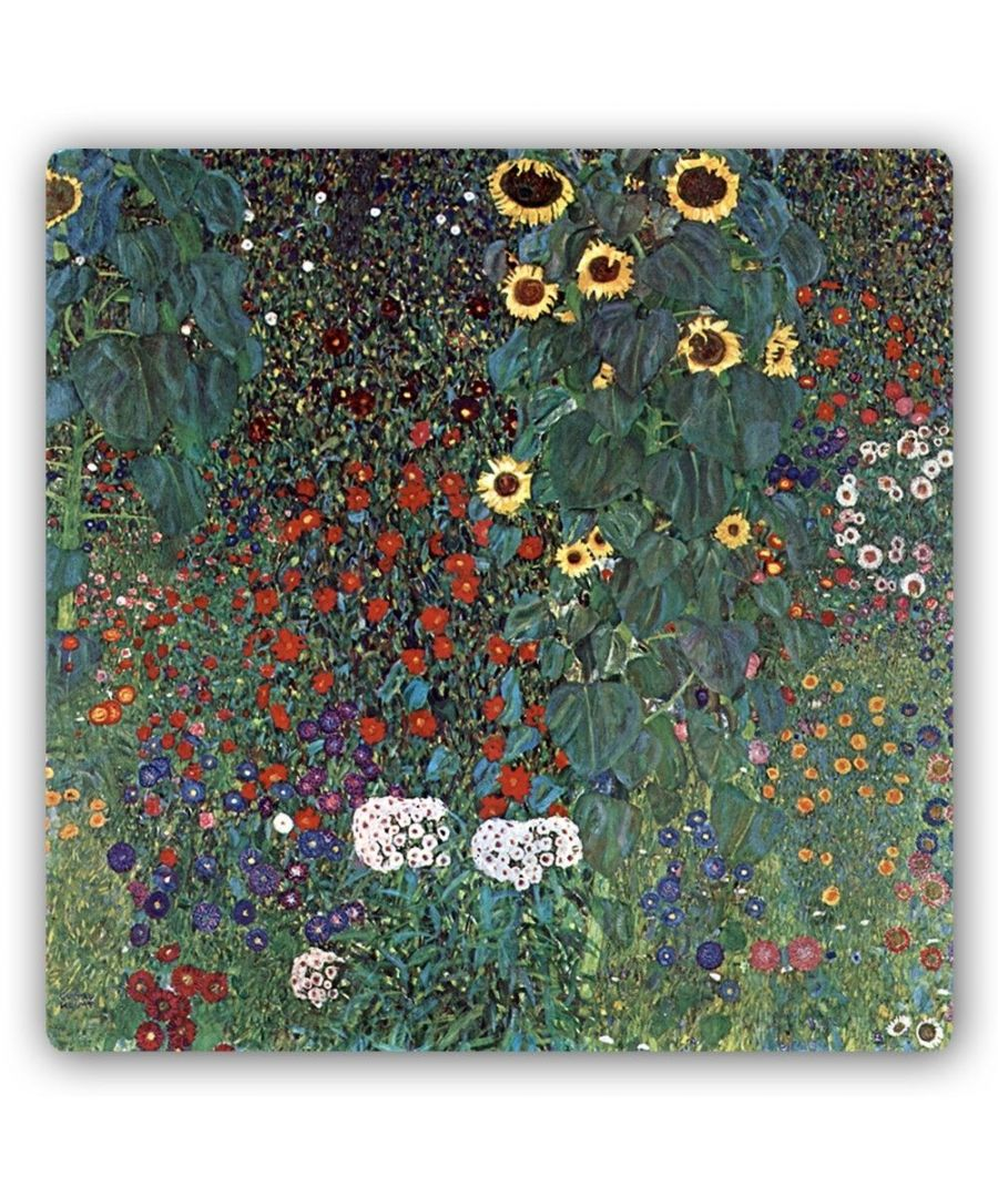 Image for Metal Print - Country Garden With Sunflowers - Gustav Klimt