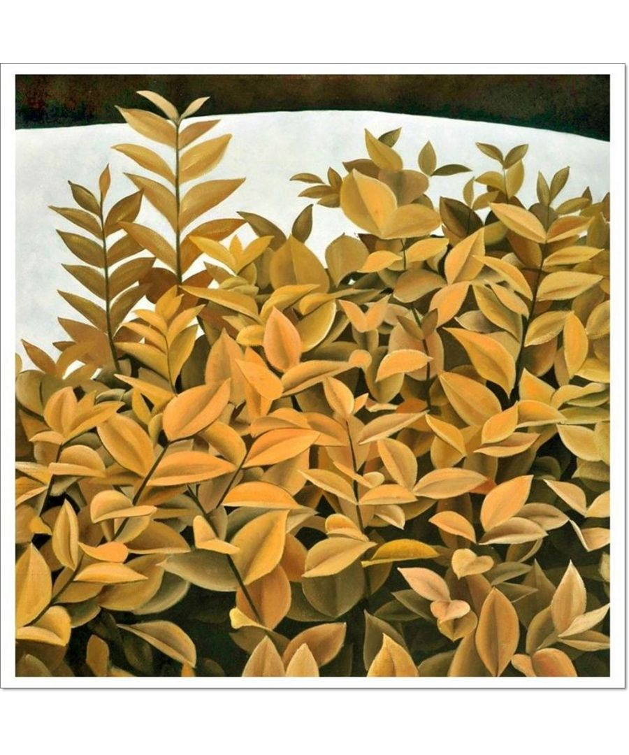 Image for Oil Painting - Yellow City Jungle Cm. 80x80