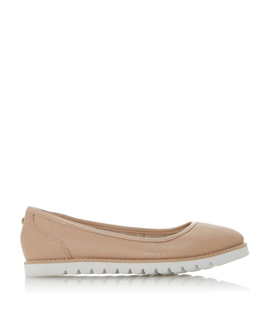 Image for Dune Ladies HADEN Cleated Contrasting Sole Flat Shoes