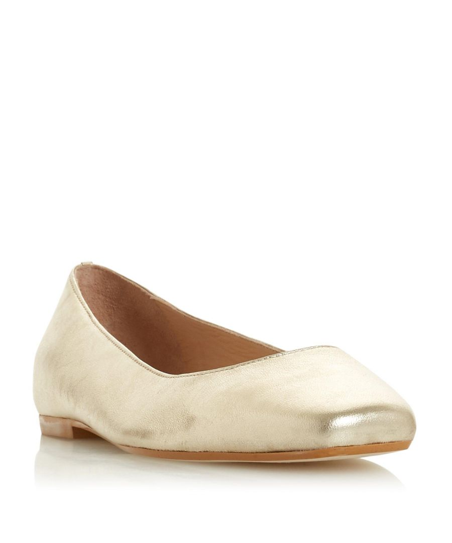 Image for Dune Ladies HALLADAY Square Toe Ballet Pump