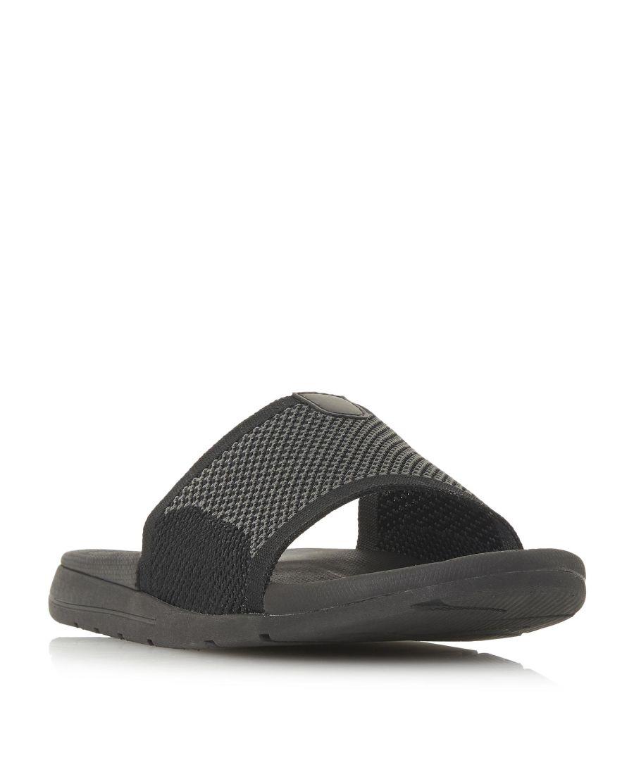 Image for Dune Mens HANKS Knit Strap Slider Sandal