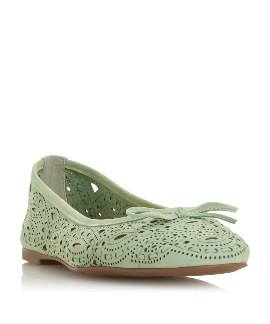 Image for Dune Ladies HANSEN Cutwork Ballet Pump