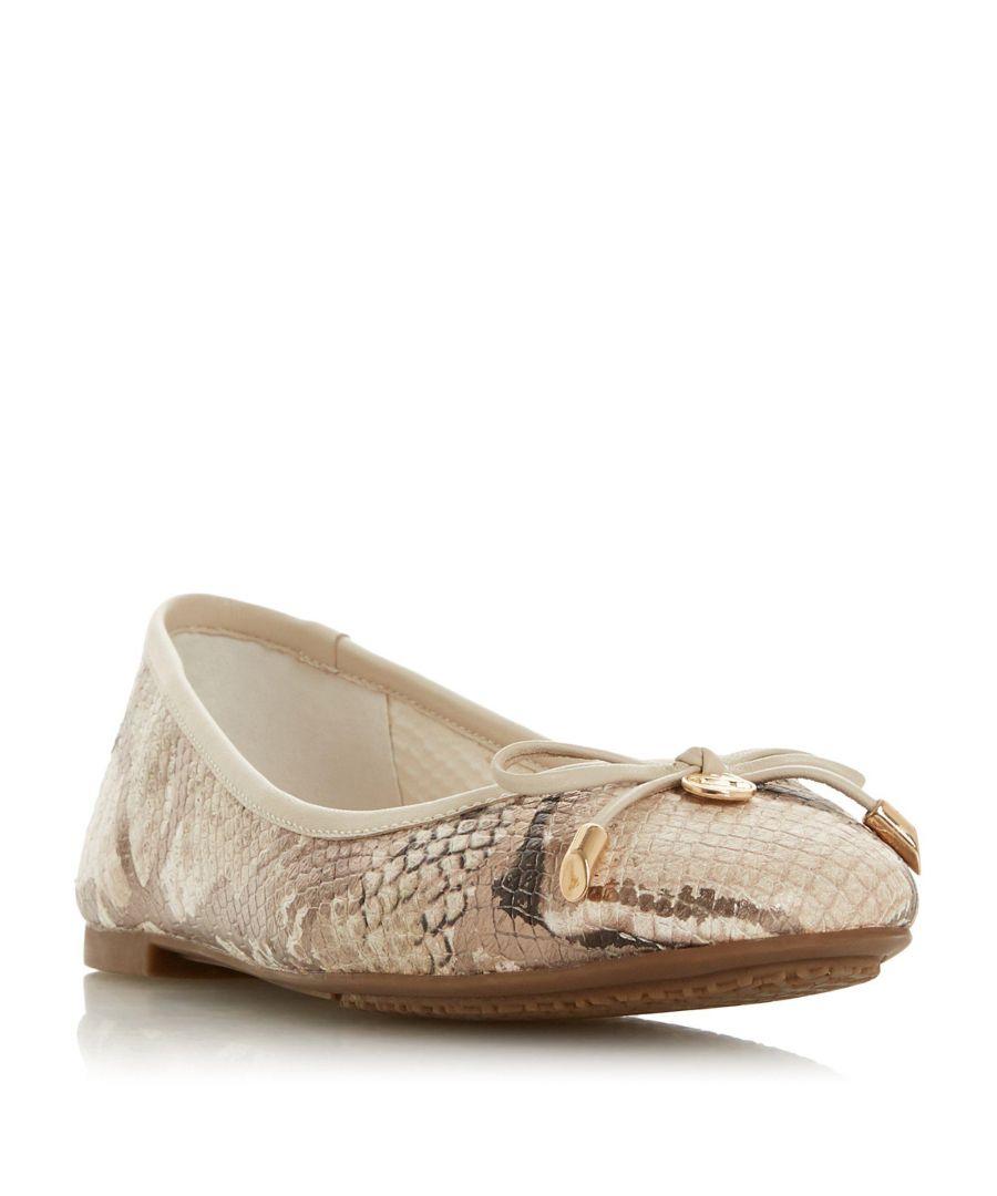 Image for Dune Ladies HARPAR Round Toe Ballerina Pump