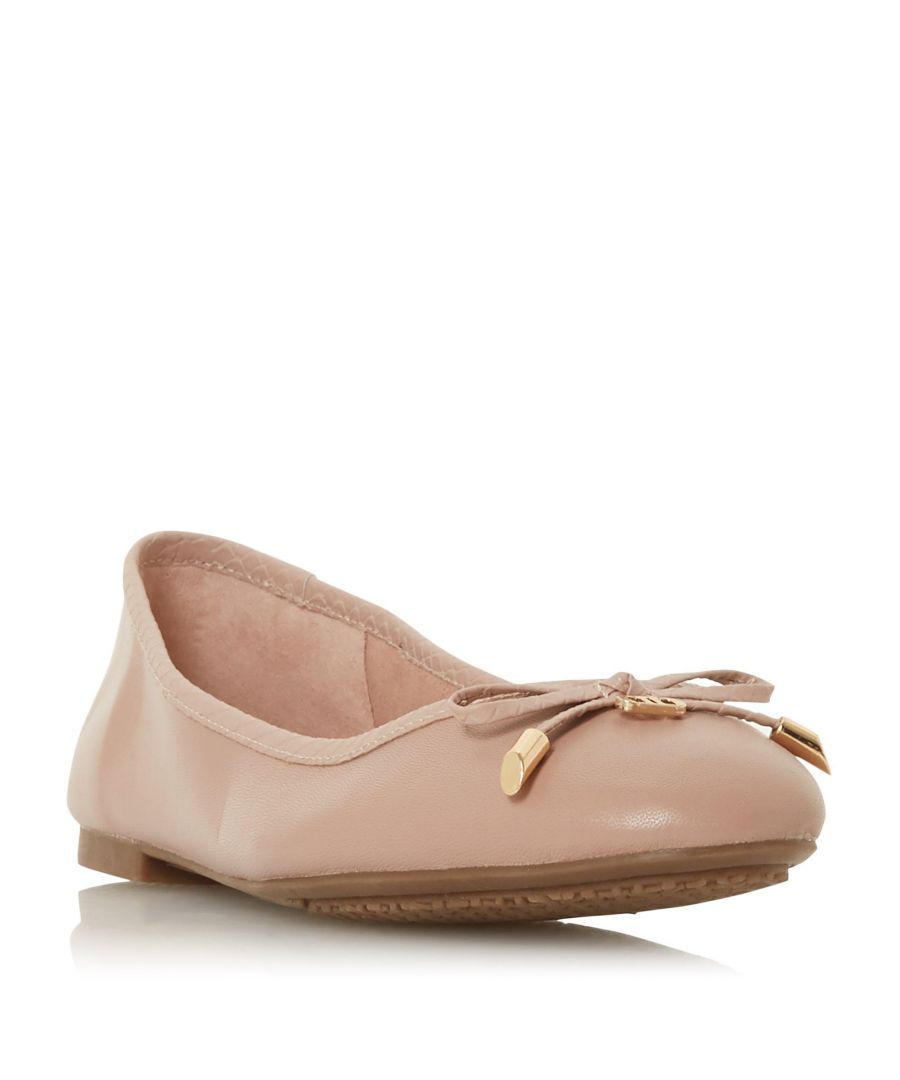 Image for Dune Ladies HARPAR 2 Embossed Ballet Pump