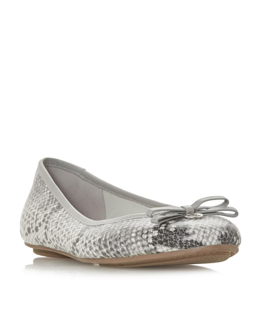 Image for Dune Ladies HARPS Bow Detail Ballerina Pump