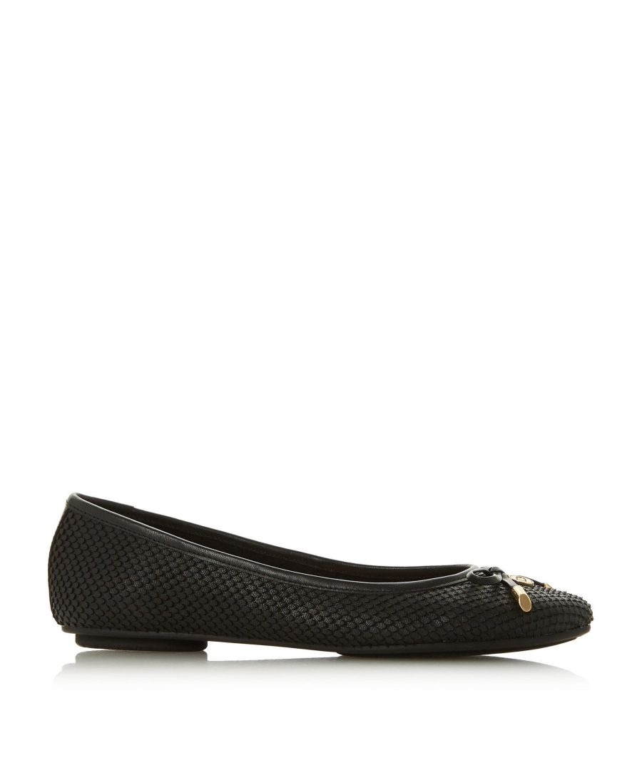 Image for Dune Ladies HARPSS Bow Detail Ballerina Pump