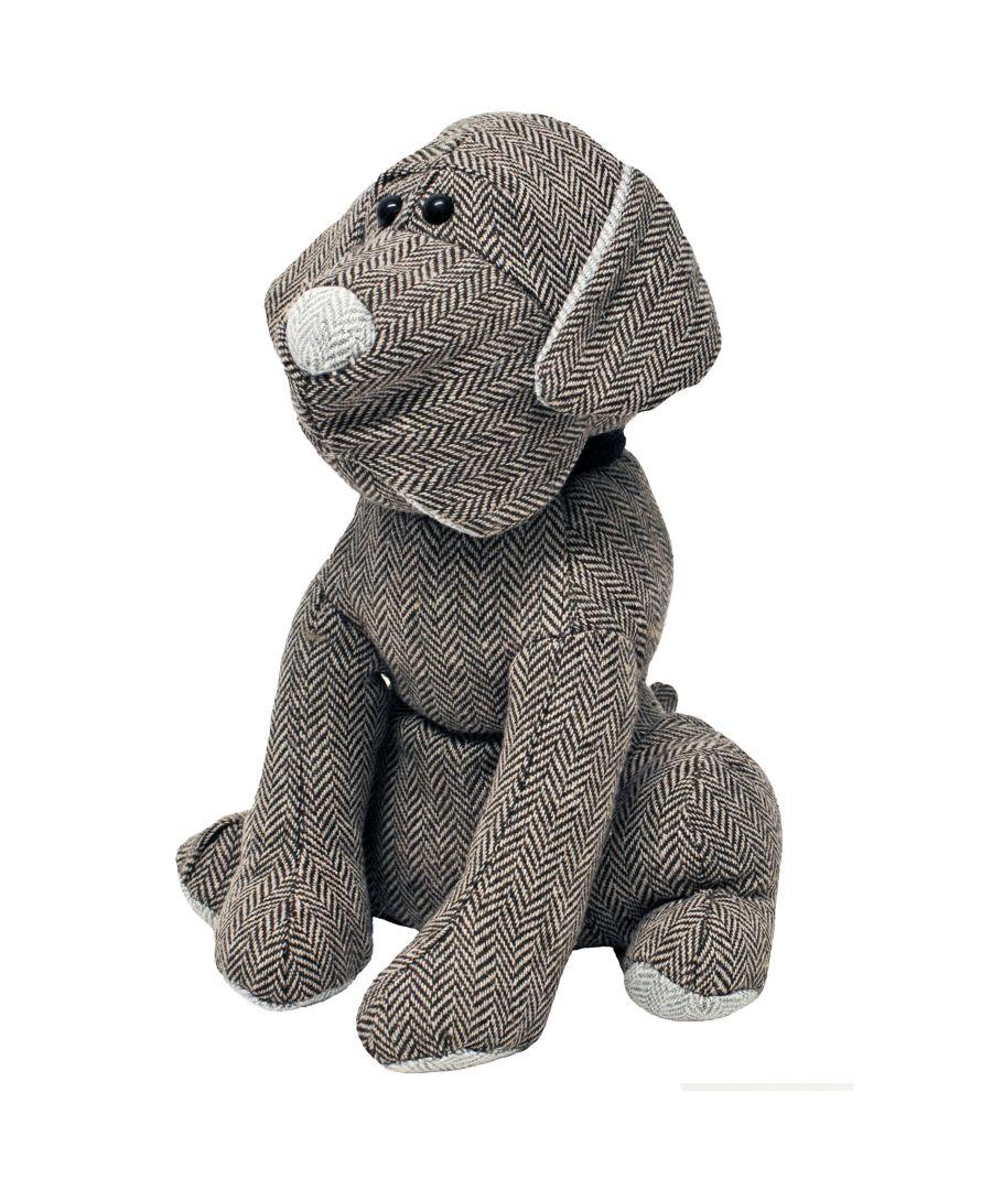 Image for Herringbone Dog Doorstop