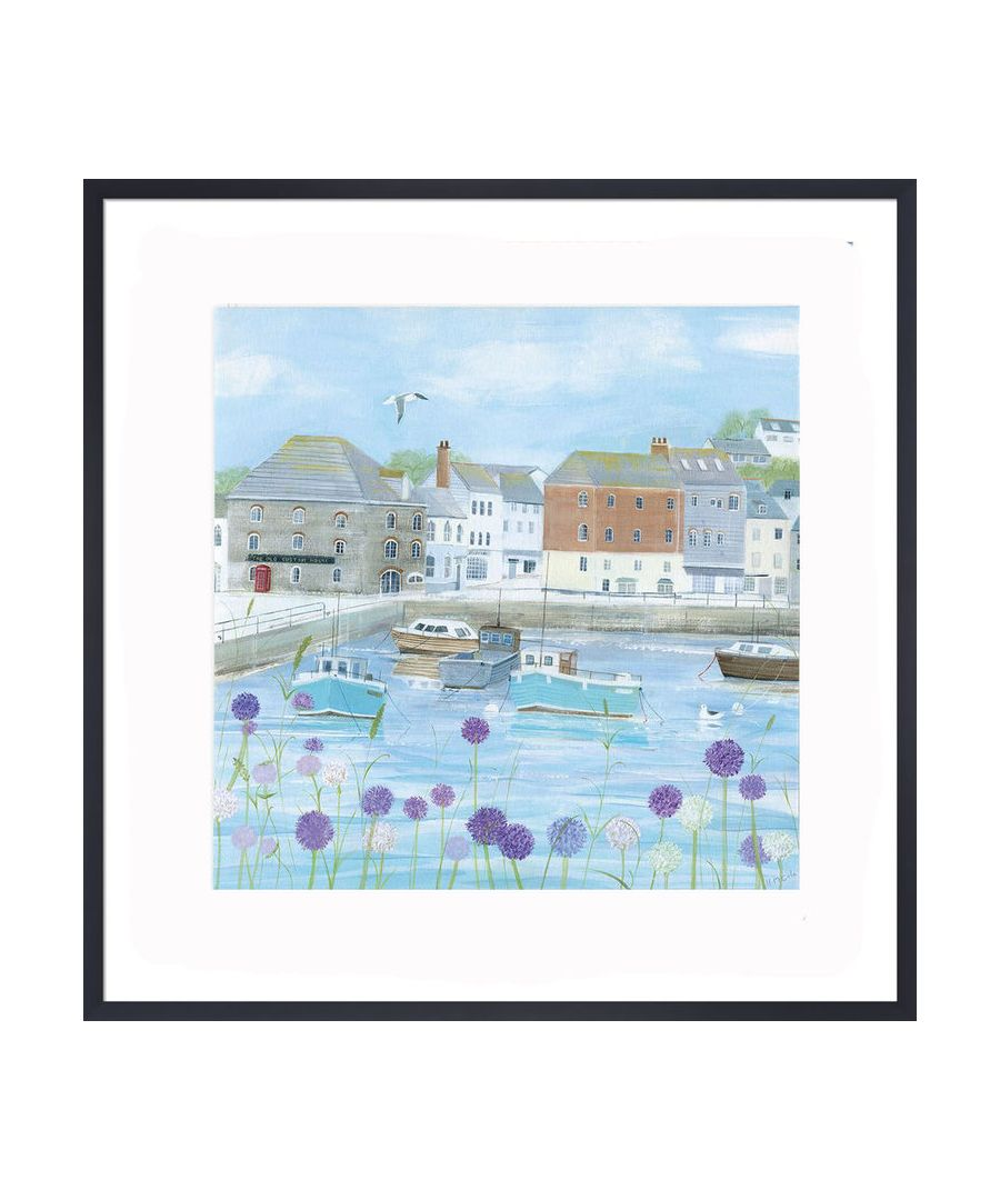 Image for Padstow Flowers Art Print by Hannah Cole