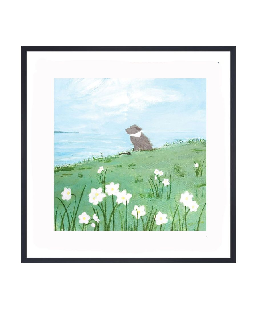 Image for Enjoying the Breeze Art Print by Hannah Cole
