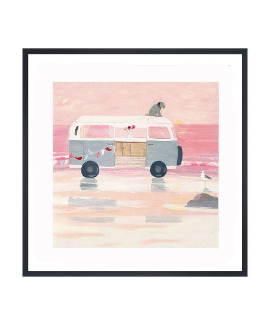 Image for Let's Escape Art Print by Hannah Cole