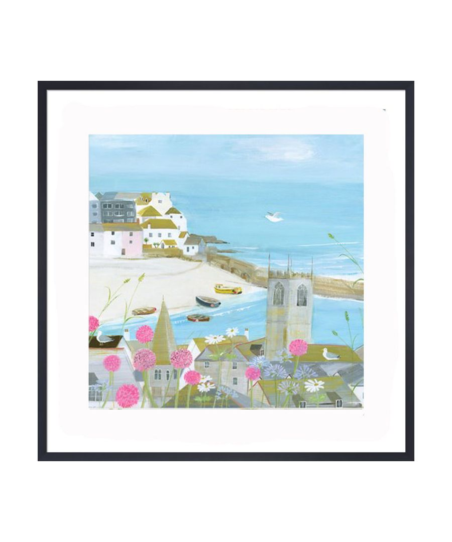 Image for Above the Harbour Art Print by Hannah Cole